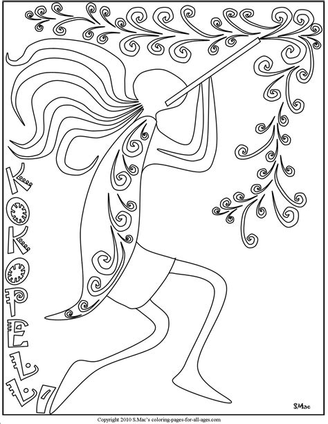 S Mac Coloring Pages by Kokopelli Coloring Pages S Mac S Place To Be