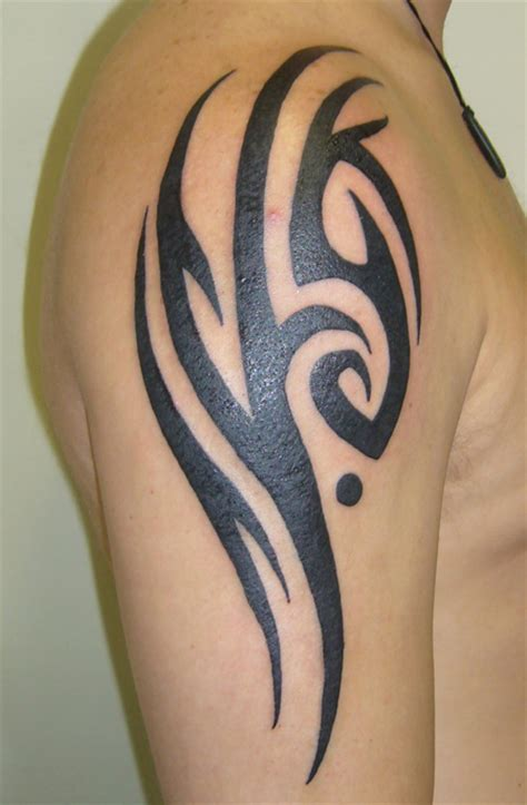 tribal tattoo design history 61 tribal shoulder tattoos