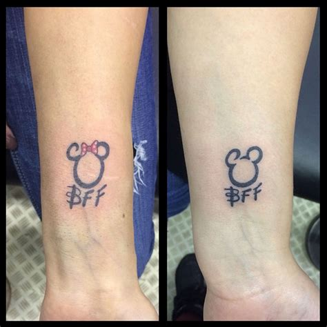 forever friends tattoo designs 21 adorable bff tattoos friends forever and bff