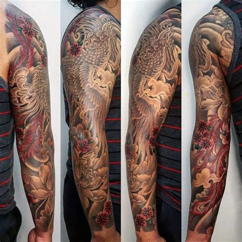black and red tattoos for men 50 japanese designs for mythical ink