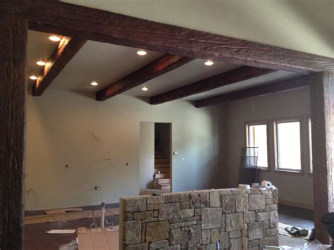 faux wood beams for ceiling design ideas old world