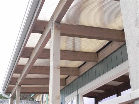 framing a patio cover beachfront patio cover cedar wood frame style deck seattle by decks patio
