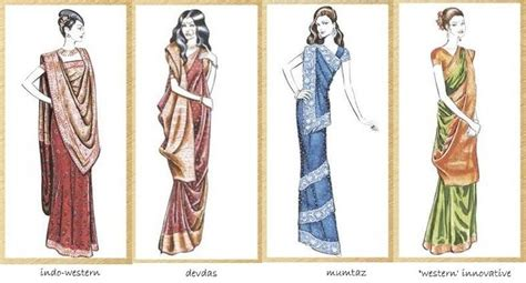 different ways to drape a saree how to wear saree in different style traditional saree