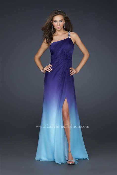 Purple Flower Split Dress 9144 10 best la femme images on formal dresses