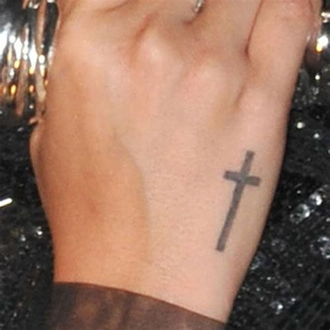 cross tattoos on side of hand 25 best ideas about cross tattoos on