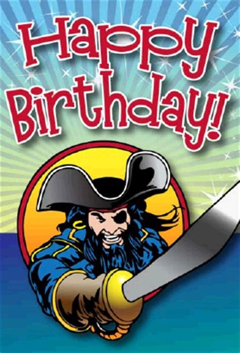 Printable Birthday Card Pirate | new printable greeting cards
