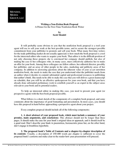 concise cover letter table of contents template for a book report