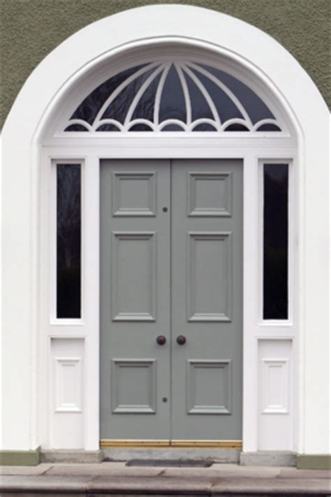 Blue Gray Front Door Modern Country Style Colour Study Beautiful Farrow And Front Doors