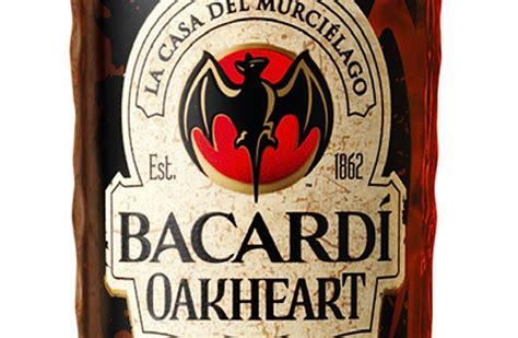 bacardi oakheart logo bacardi oakheart spiced rum review drink spirits