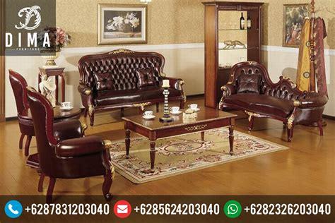 Kursi Ruang Tamu Mewah mebel ruang tamu set kursi sofa tamu klasik mewah terbaru