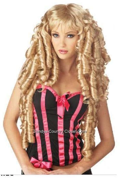 long haired sissy stories crossdresser sissy long curly blond story book deluxe wig