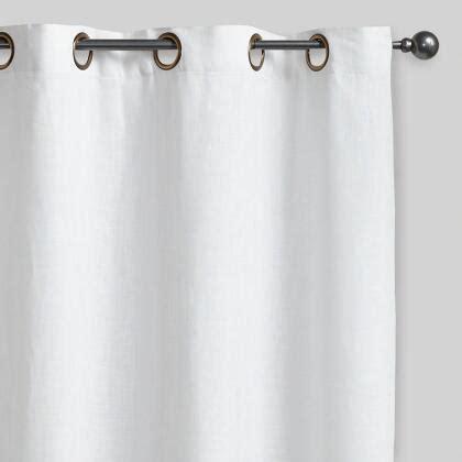 world market smocked curtains white smocked top cotton curtain world market