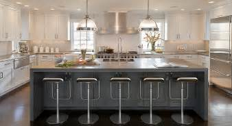 u shaped kitchen with island u shaped two tone kitchen design ideas