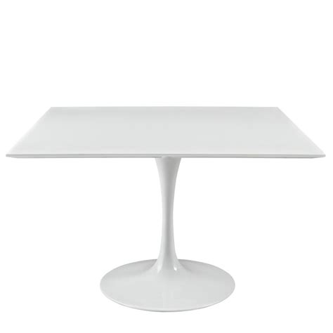 brilliant square white dining table modern furniture
