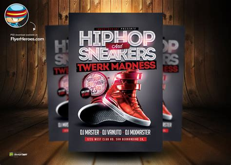 free hip hop flyer templates 7 hip hop psd photoshop images hip hop flyer templates