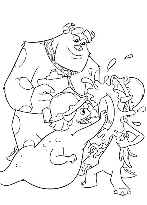 disney coloring pages monsters inc coloring page monsters inc coloring pages 12