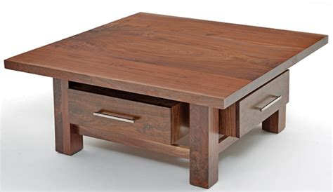 contemporary classic collection coffee table with four