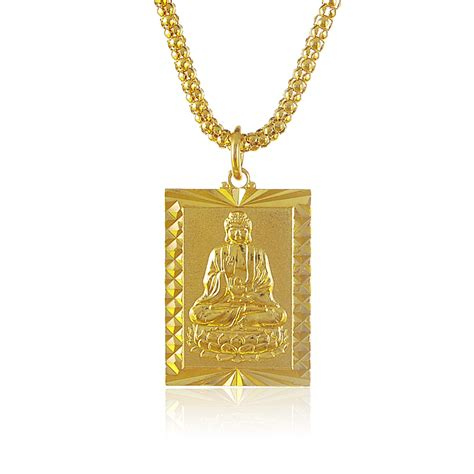 buy wholesale gold buddha necklace from china gold