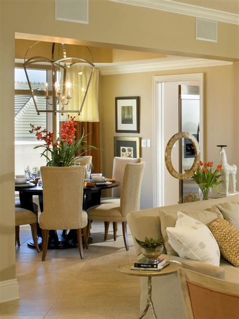 traditional dining room  oversized glass chandelier hgtv
