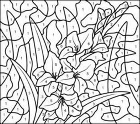 really hard color by number coloring pages printable difficult color by number pages yahoo image