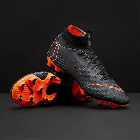 Deker Nike Mercurial Orange Black nike mercurial superfly vi pro fg mens boots firm ground ah7368 081 black total orange white