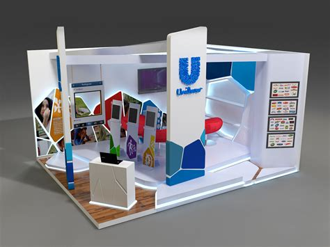 booth layout en francais unilever booth on behance