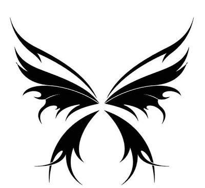 trend tattoos butterfly tribal tattoos