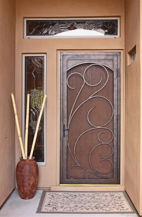 secure door unique home designs security doors homesfeed