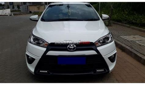 Yaris Trd 2014 120 2014 toyota all new yaris 1 5 s trd at putih