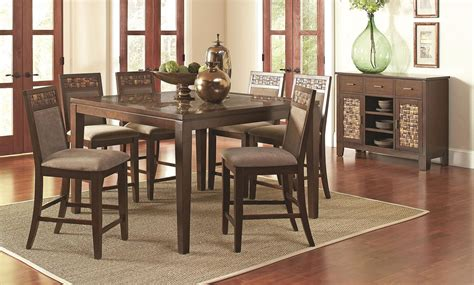 counter height dining room sets counter height dining room set casual dining