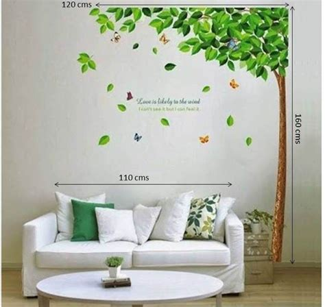 Online Wall Stickers wow wall stickers pvc removable sticker price in india