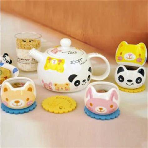 teapot ls for sale creative cartoon animals ceramic teapot and cups set