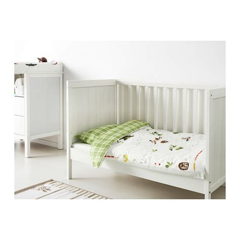 Sundvik Crib Toddler Bed Sundvik Cot White 60x120 Cm Ikea