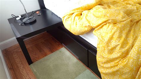 malm storage bed hack got a malm bed with drawers want easy nightstands ikea