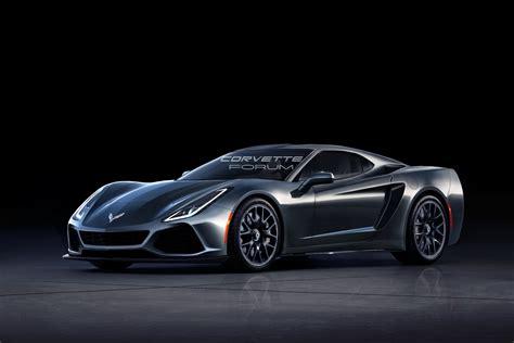 Mid Motor Corvette by 2019 C8 Corvette Rendered Based On Spyshots Looks Like A