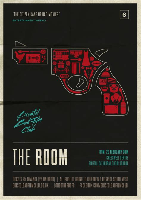 the room poster wiseau bristol bad club