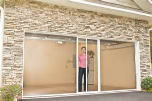 Screen Doors For Garage Roll Up Screen Lifestyle Screens