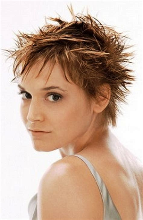 haircuts for women long hair that is spikey on top short spikey hairstyles for older women