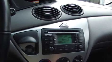 2004 ford focus remove charcoal can ford focus blaupunkt radio youtube
