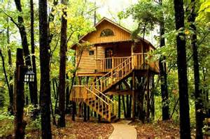the original treehouse cottages eureka springs ar