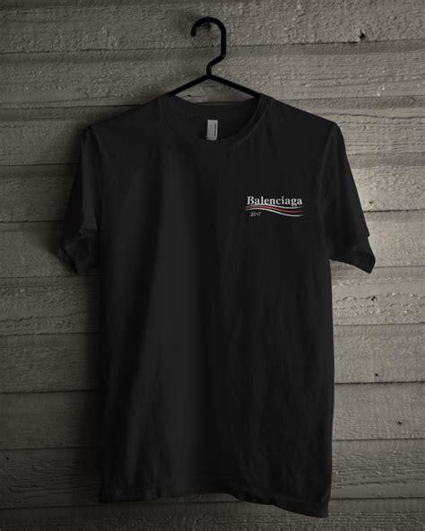 balenciaga 2017 t shirt