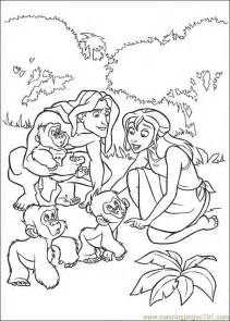 young tarzan coloring pages images amp pictures becuo