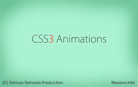 css keyframes tutorial css3 animation effects with keyframes