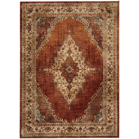 Ornamental Rugs by Karastan Rugs Spice Market 90935 20044 041065 3 5 Quot X5 5 Quot Rectangle Ornamental Area Rug Dunk