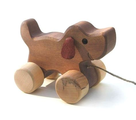 pull along toys handmade wood toys