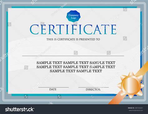 graphic design certificate boston modern certificate design ribbon template stock vector