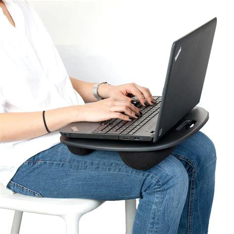 lap desk pillow walmart mind reader lptpdsk blk analog laptop desk with pillows