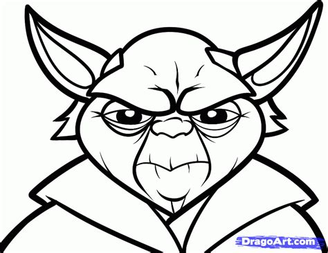 yoda coloring pages az coloring pages
