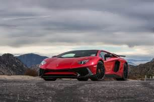 Lamborghini Aventador Quarter Mile Time 2015 Lamborghini Aventador Sv Test Review