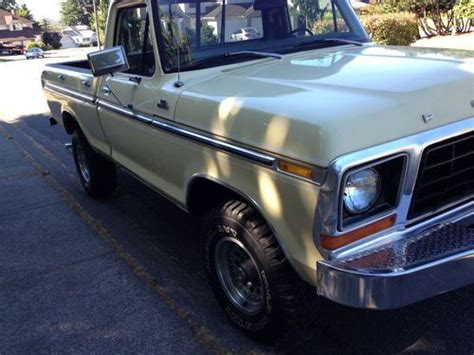 sell   ford  short box   actual miles  nice  renton washington